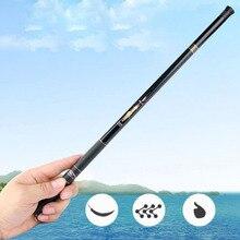 FDDL 5.4M Carbon Fiber Telescopic Fishing Rod Portable Spinning Fishing Rod Pole Travel Sea Boat Rock Fishing Rod