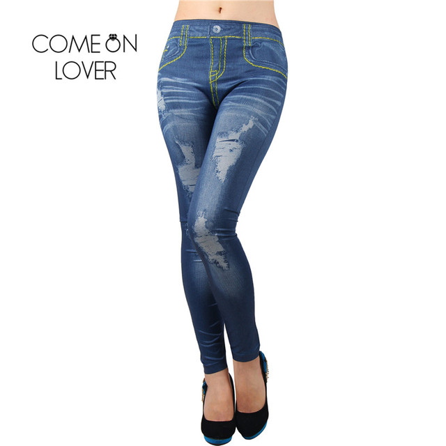 43d6736105601 Drop Shipping Low Price Two Styles With White Color Insert Women Jeans  Denim Leggins Jeans Hot