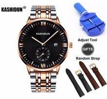 KASHIDUN Mechanical Men's Watches Luxury Casual Automatic Wristwatches Fashion Waterproof Luminous Easy-Read relogio masculino