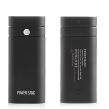 цена на Portable 2x18650 Battery DIY Box Charger 5V USB Power Bank Case Kit Mobile Phone