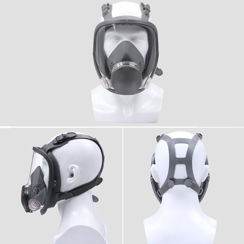 3 м 7501 + 6057 полуреспиратор для лица, Маска многоразового использования, респиратор, маска от пыли/органических газов/хлора, 7 предметов в 1 наб... - 2