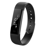 Smart Bracelet IP68 Waterproof OLED Heart Rate Fitness Tracker Smart Wristband