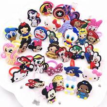 545995fd3 10pcs Girls Boys Cartoon Avengers Princess Minnie Mickey Hello Kitty finger  Rings Children Kids Jewelry Party cosplay Gift