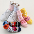 Winter Warm Socks Children Slipper Socks for Kids Fluffy Bed Socks Home Baby Boys Girls Coral Velvet Floor Socks Thick Cute 0-3Y