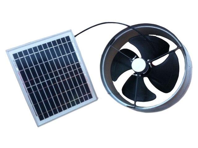 Superior Pignon Ventilateur Solaire Pignon Fans Ventilation Capacité 1279cfm 20 W  Faible Bruit 12 V