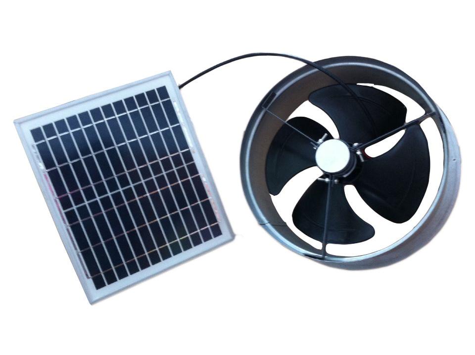 Gable fan solar gable fans venting capacity 1279cfm 20w - Solar powered bathroom exhaust fan ...