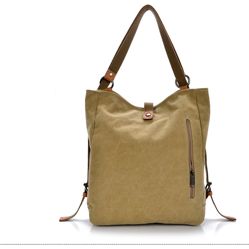 Fularuishi 2017 New Women Backpack Vintage Canvas Bag Shoulder For Man Casual Travel Mochila Sac Zg016 In Backpacks From Luggage