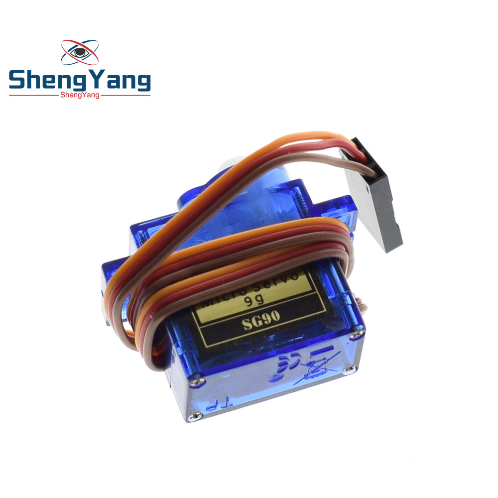 1PCS ShengYang Smart Electronics  Rc Mini Micro 9g 1.6KG Servo SG90 for RC 250 450 Helicopter Airplane Car Boat 4