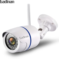 GADINAN HD 1080P 960P 720P Wireless IP Camera P2P RTSP Motion Detected Waterproof WiFi Camera Bullet