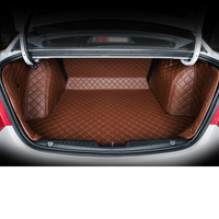 lsrtw2017 fiber leather car trunk mat Customise for kia k5 kia optima 2016 2017 2018 2019 3D car styling