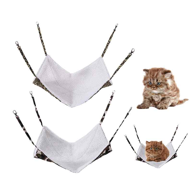 New Hot 6 Patterns Cute Polyester Pet Rat Chinchilla Rabbit / Cat Cage Small Hammock Pet Puppy Dog Bed Cover Bags Covers
