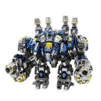 MU 3D Metall Puzzle Star Craft Thor Rüstung YM-N020 2 in 1 gemeinsame bewegliche modell diy 3d laser cut montieren puzzle spielzeug für audit