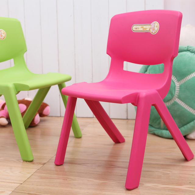 Billion US Home Goods Thicker Plastic Chairs Child Baby Chair Chairs Child  Care Nursery Dedicated Small