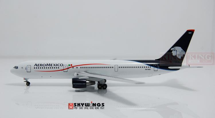 WT4763001 Witty Mexico Airlines XA-MAT 1:400 commercial jetliners plane model hobby B767-300 spike wings xx4502 jc turkey airlines b777 300er san francisco 1 400 commercial jetliners plane model hobby