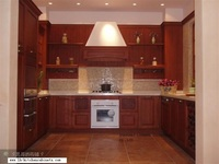 European style wood cabinets for kitchen (LH SW026)