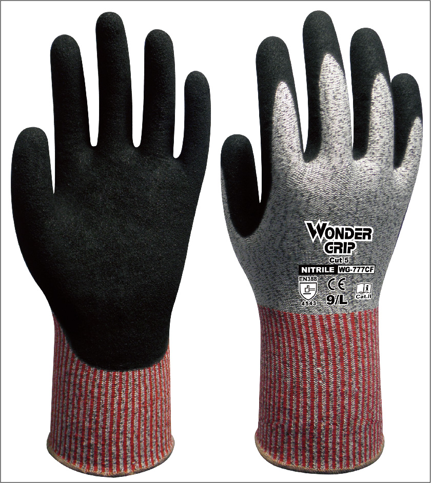 Fibra de aramida guantes instalador seguridad Anti-corte guante HPPE Cut guantes de trabajo resistentes