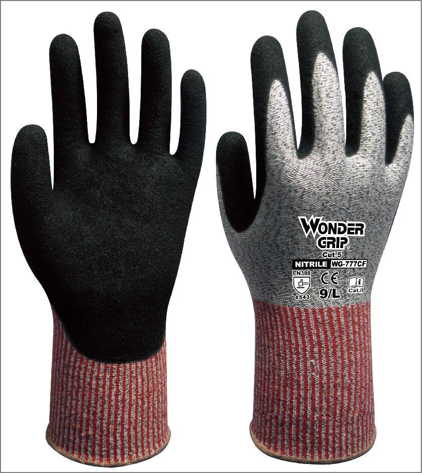 Fibra de aramida prueba de corte mecánico guantes Anti-corte guantes de seguridad HPPE resistente al corte guantes de trabajo