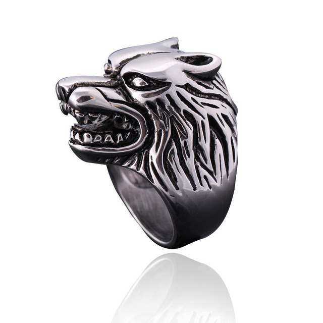 Choose from 7 Animal spirits your guardian ring Tiger Wolf Lion Elephant