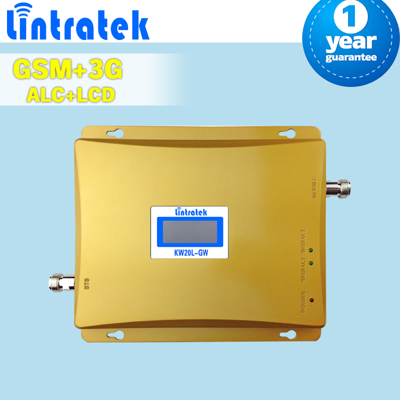 Dual Band 2G GSM 900 3g Cellular Signal Amplifier LCD Display 900 + 2100 (Band 1) Mobile Phone Cellphone Booster 3g Repeater S58