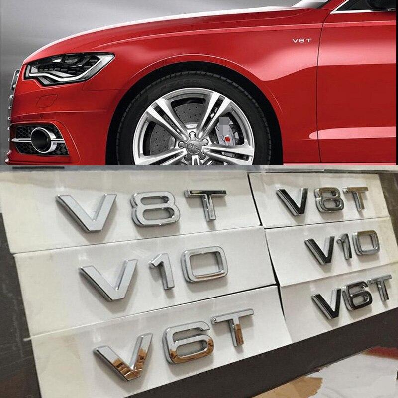 Audi S-line Logo Premium Quality Cast Wheel Decals Kit Stickers TT Quattro TFSI