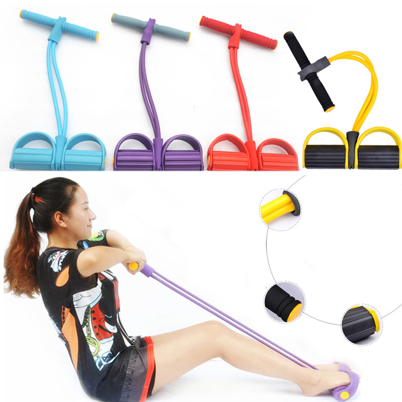 New Pull Rope Fitness Resistance Bands Resistance Rope