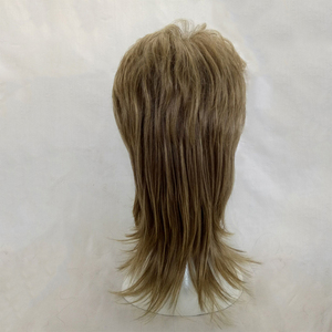 Image 5 - HAIRJOY Male Wig Layered Curly Hair Medium Length High Temperature Fiber Synthetic Man Cosplay Wigs 7 Colors Available