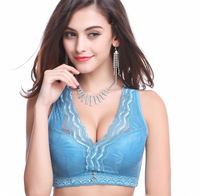 Dimissyo Sexy Push Up Bra C D Cup Plus Size Bralette Deep V Lace Bras For