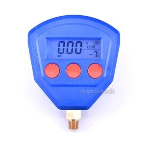 Image 4 - R22 R410 R407C R404A R134A climatiseur réfrigération sous vide équipement médical manomètre numérique alimenté par batterie