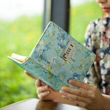 Agenda 2019 Planner Organizer Diary A6 โน้ตบุ๊คเกลียวล็อค Custom รายเดือน Kawaii ส่วนบุคคล Travel Journal หมายเหตุหนังสือ