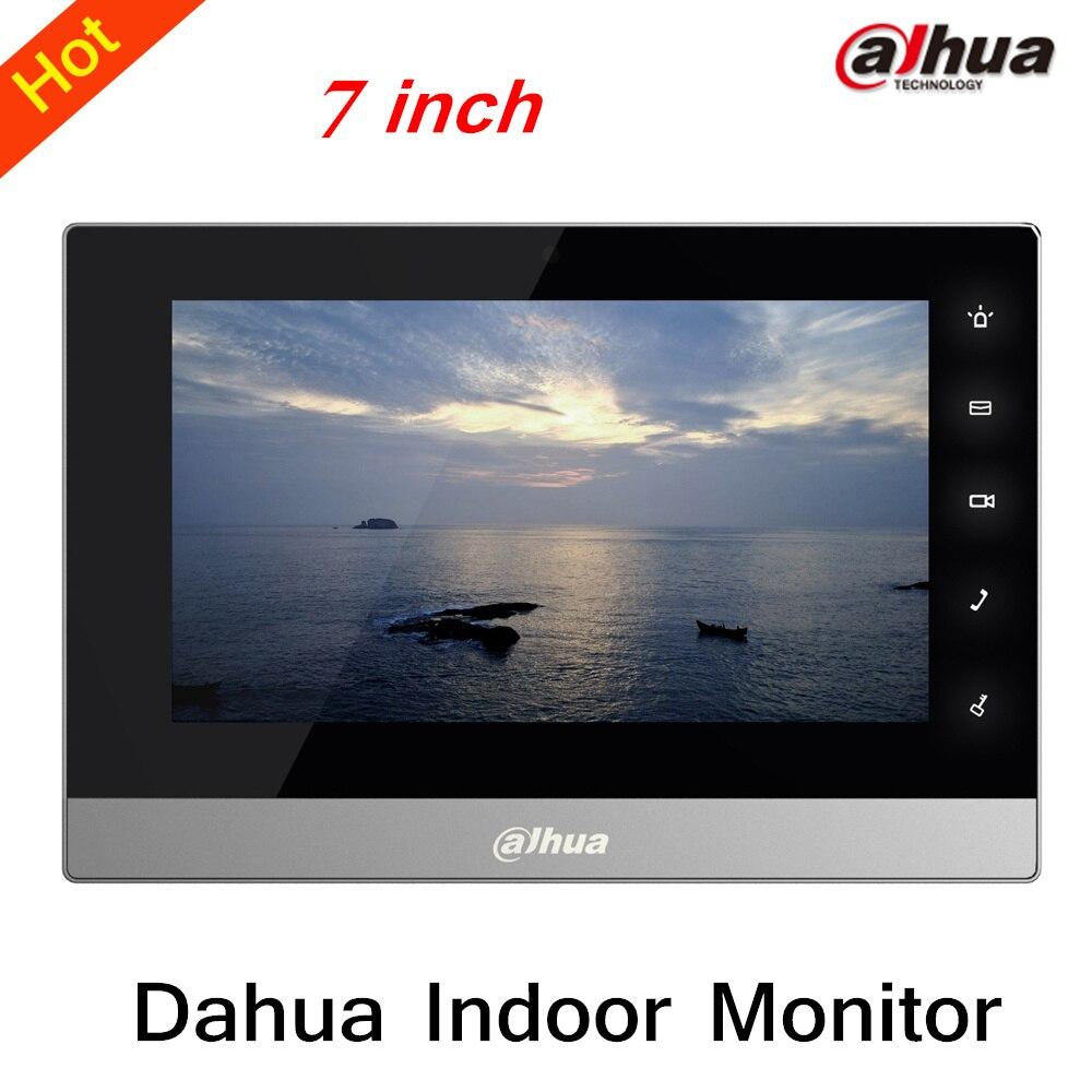 100% Original Dahua 7 inches Color Indoor Monitor Original English Version without Logo VTH1510CH