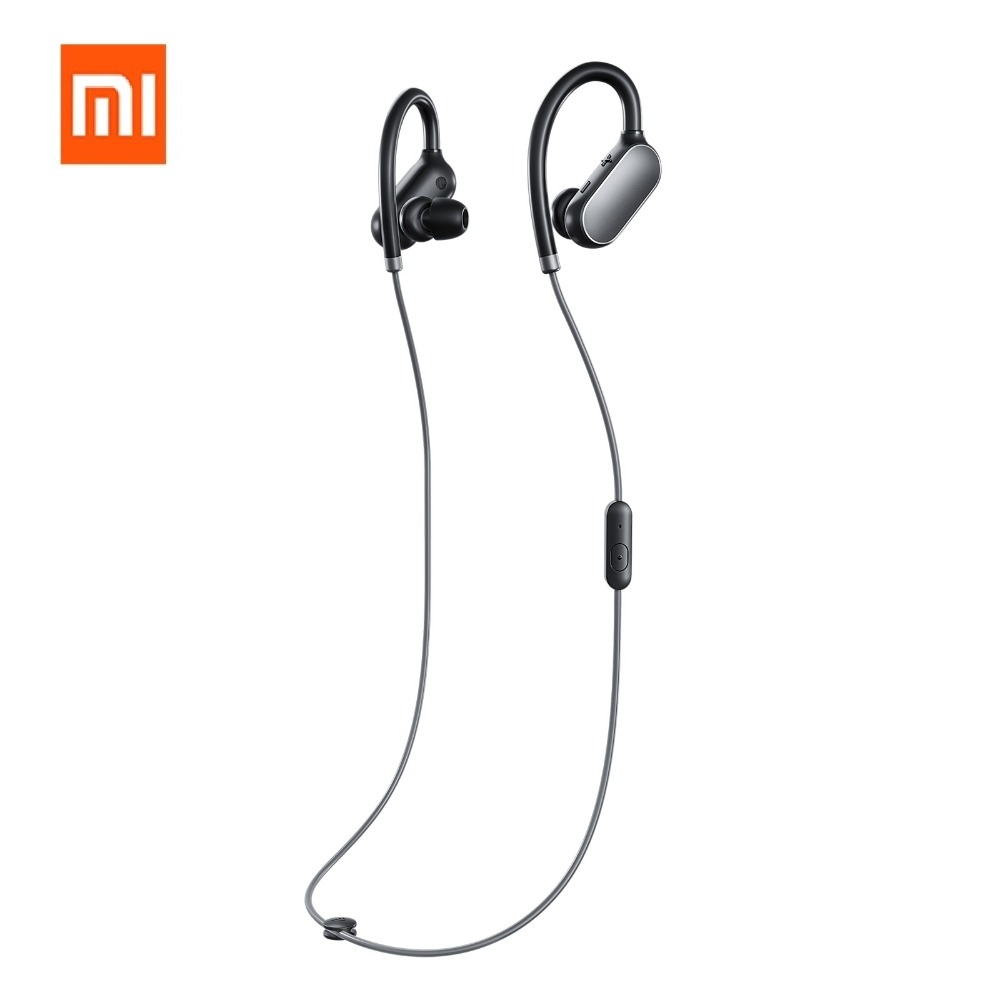 Original Xiaomi Sports Bluetooth Earphone Wireless Earphone Headset with Mic Bluetooth 4.1 for Xiaomi Mobile Phone Iphone lymoc v8s business bluetooth headset wireless earphone car bluetooth v4 1 phone handsfree mic music for iphone xiaomi samsung
