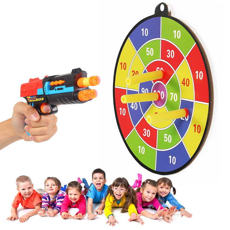 Target Toys For Toddlers : New bullet dart board for nerf n strike elite gun blaster