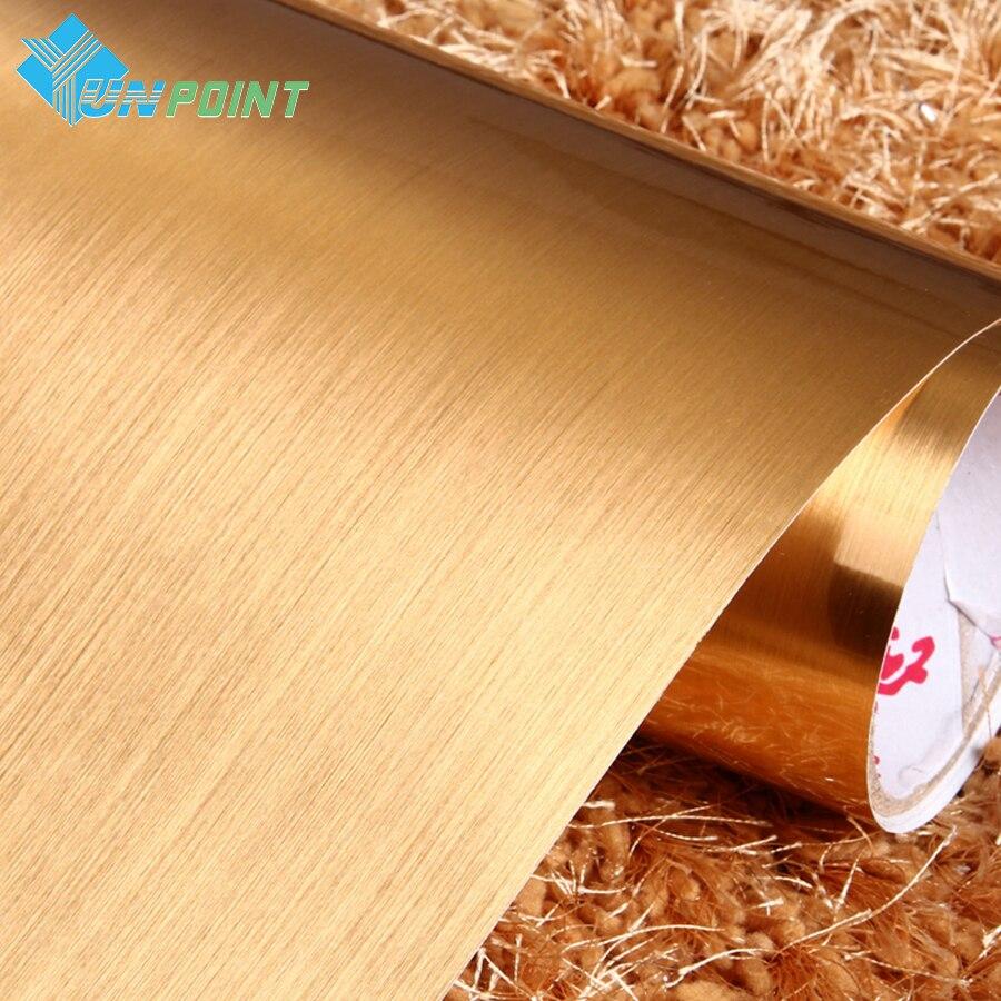 Furça argjendi argjendi PVC Sticker dekorative Vinyl Vetë ngjitëse - Dekor në shtëpi - Foto 4