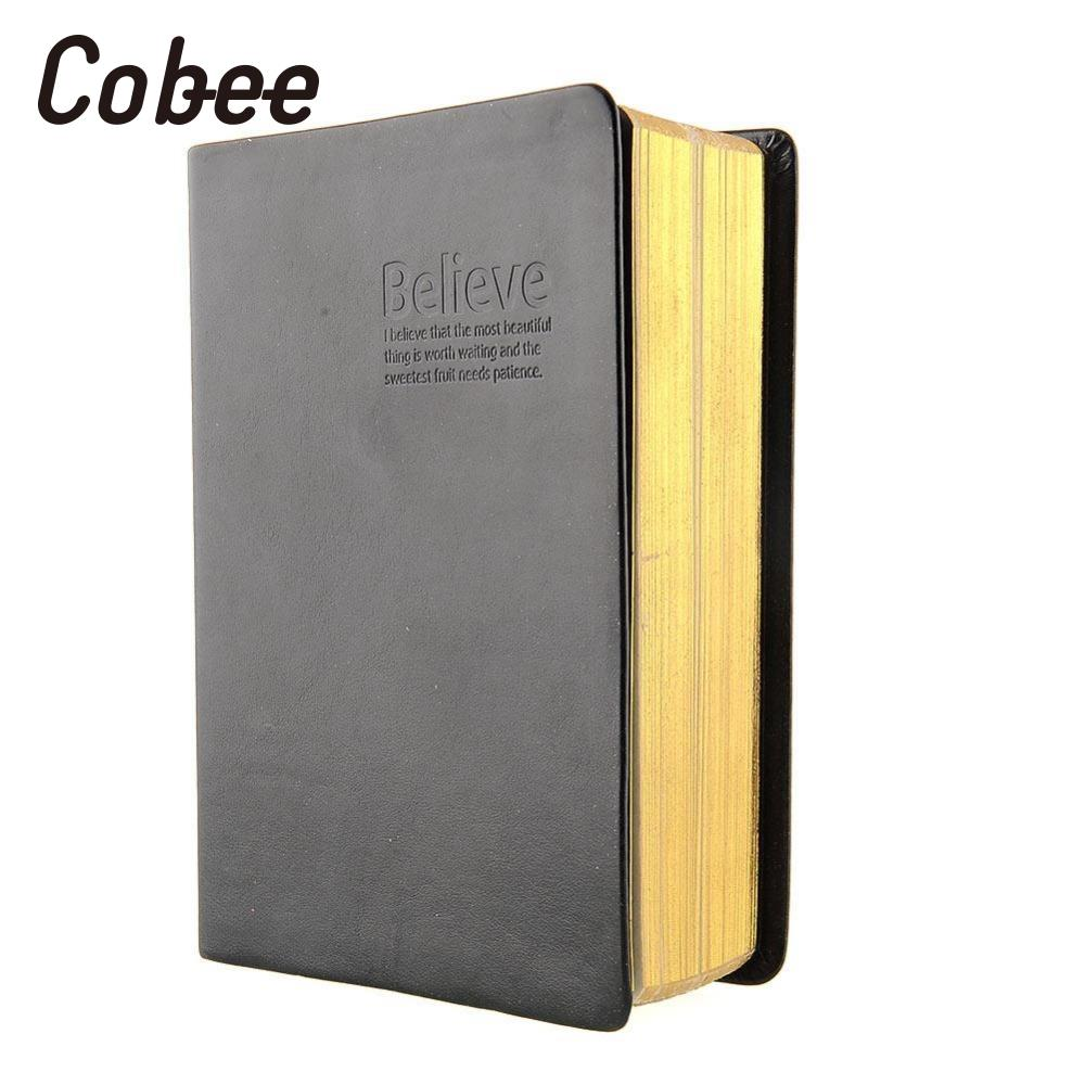 Cobee Retro Classic Antique Memo Diary Sketchbook Notepad Jotter Leather Cover Blank Pages Notebook School Supplies maritime travel log classic vintage retro classic pu leather blank pages copper plated sea anchor and straps sketchbook notebook