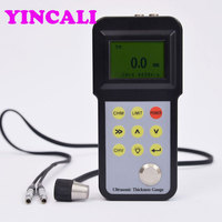High Accurate Thickness Gauge ETC 098 Large measure range Ultrasonic Thickness Meter sound velocity range 1000m/s 9999m/s
