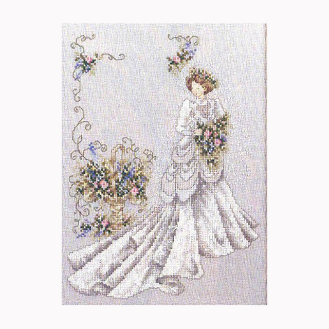 Bride european wedding decoration people gift stitch counted cross bride european wedding decoration people gift stitch counted cross stitch 14ct dmc diy kits for embroidery junglespirit Gallery