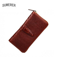 Genuine Leather Bags For Women Crocodile Pattern Luxury Handbags Women Bags Designer Leather Womens Wallets And