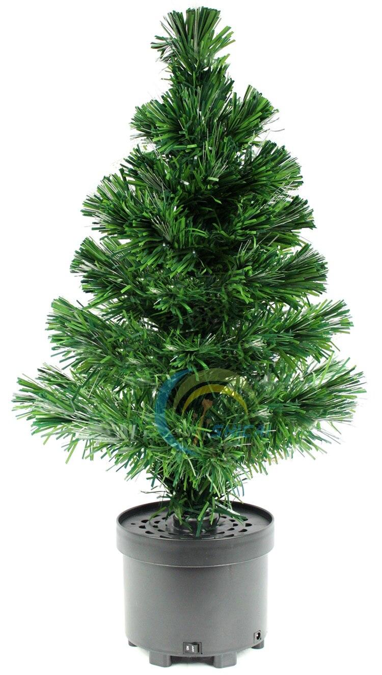 Shi color fiber optic Christmas tree Christmas tree 60CM LED fiber ...