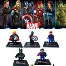 Avengers 3 Infinito Figura de Ação de Guerra Black Panther Brinquedos Marvel Thanos Gamora Hulk Blocos de Construção Compatíveis com LegoINGlys