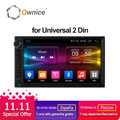 Ownice C500 Android 6,0 Octa 8 core Radio 2 DIN 2 GB RAM 32 GB ROM universal GPS radio wifi apoyo 4G LTE red DAB + no dvd