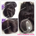 Indian remy hair silk straight 18 inches right part women toupee/hair placement custom order