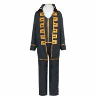 NIEUWE Maatwerk Gintama Kostuum Shinsengumi Cosplay Kostuum Volwassen Gintama Top Broek Kostuum L0516