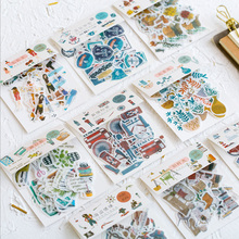 40 Pcs/lot Cute Stickers Kawaii Planner Diary Scrapbooking Sticker Stationery School Supplies