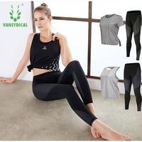 Sport Clothing 2pcs Women S Sportswear Shirts Leggings Summer Fitness Quick Dry Yoga Sets Jogging Gym