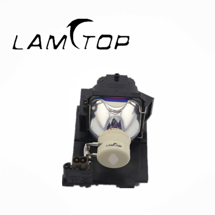 Free shipping   LAMTOP compatible  lamp with housing/cage    DT01022 lamtop original lamp with housing cage dt01022 for ed x24