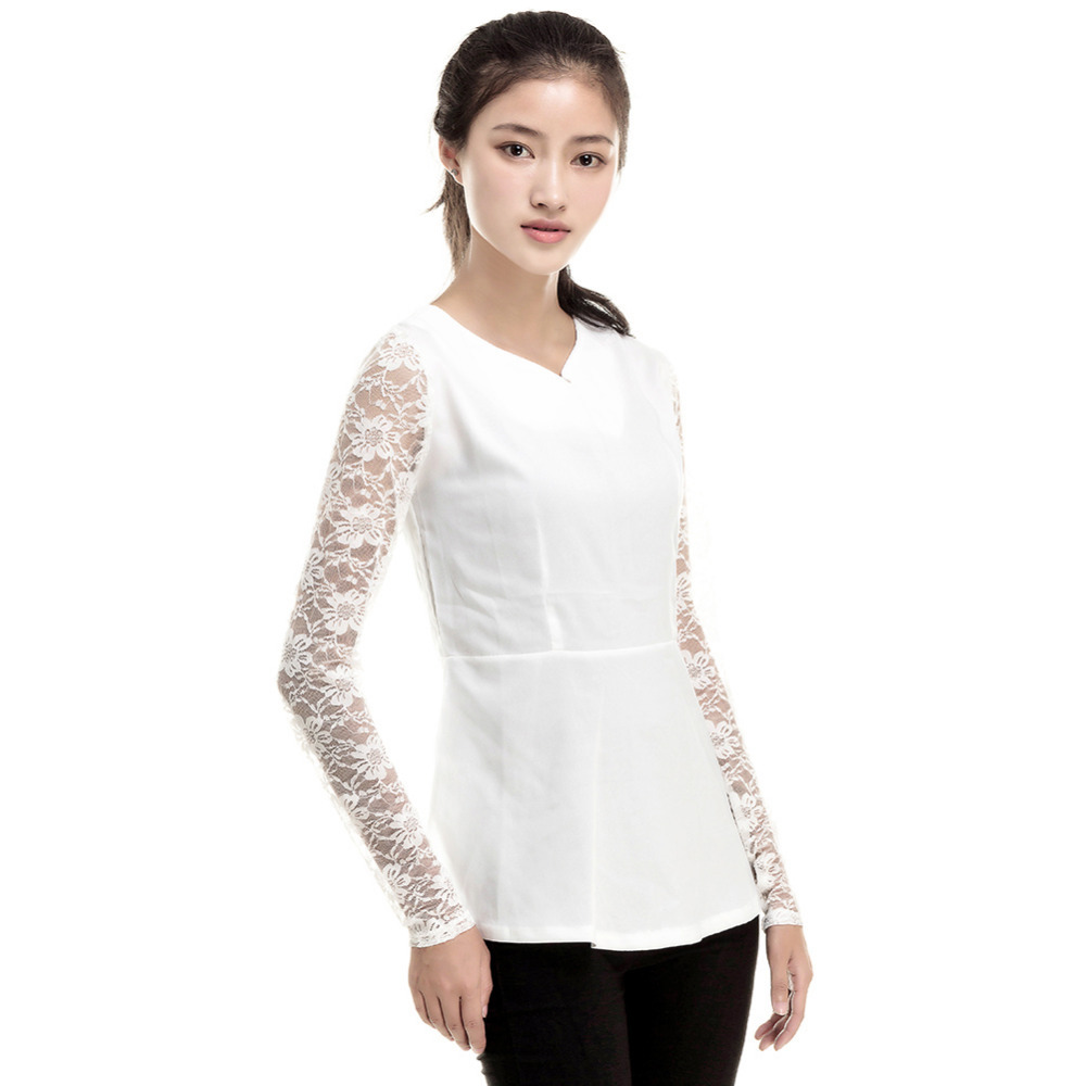 Compare Prices on Solid Peplum Blouse- Online Shopping/Buy Low ...