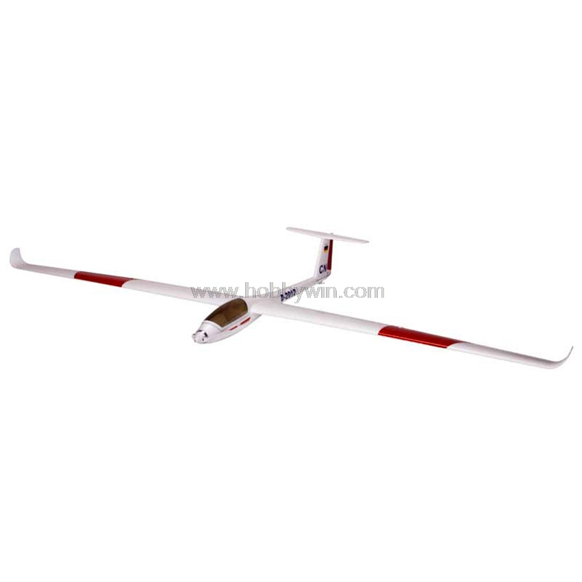 LS8-18 Sailplane EPS 2000mm PNP without Battery & Radio RC foam plane glider model airplane ls8 18 sailplane eps 2000mm pnp without battery