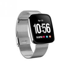 V6 Akıllı Izle Bilezik su geçirmez Nabız Kan Basıncı Smartwatch Açık Modu Fitness Tracker Hatırlatma Giyilebilir Cihazlar