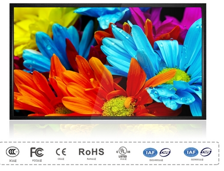 42 Inch HD LCD Ad Player Digital Lcd Display Electronic Media Player For Advertising