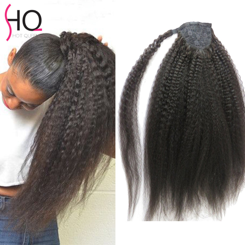 Human Hair Natural Ponytails
